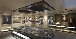 Here you can see the gallery with artefacts from the first 7 or 8 centuries of  the Order